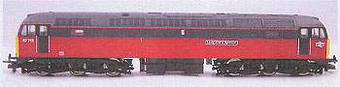 """L204959 Class 47/7 47712 """"Lady Diana Spencer"""" in Parcels Red livery"""