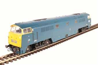 "4D-003-009D Class 52 D1021 ""Western Cavalier"" in BR blue with full yellow ends - DCC fitted"