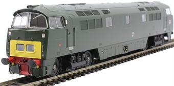 """4D-003-013 Class 52 'Western' D1035 """"Western Yeoman"""" in BR green with small yellow panels"""