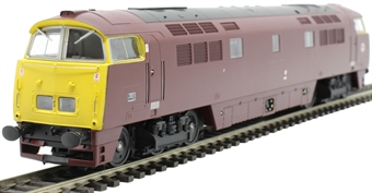 """4D-003-017 Class 52 'Western' D1016 """"Western Gladiator"""" in BR maroon with full yellow ends"""