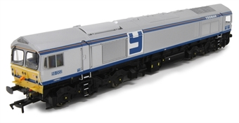 """4D-005-000 Class 59/0 59005 """"Kenneth J Painter"""" in Foster Yeoman livery"""