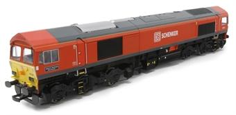 "4D-005-002 Class 59/2 59206 ""John F Yeoman"" in DB Schenker livery £124.43"