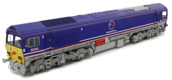 """4D-005-003 Class 59/2 59204 """"Vale of Glamorgan"""" in National Power livery"""