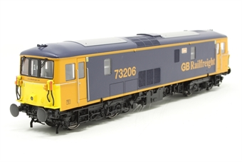 4D-006-007-PO03 Class 73/2 electro-diesel 73206 'Lisa' in GB Railfreight livery - Pre-owned - slightly poor runner