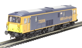 4D-006-007 Class 73/2 electro-diesel 73206 'Lisa' in GB Railfreight livery