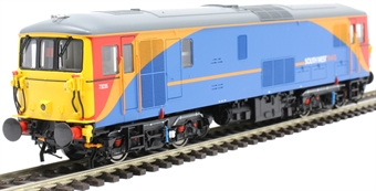 4D-006-012 Class 73/2 73235 in South West Trains livery