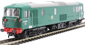 4D-006-014 Class 73/0 E6002 in BR plain green