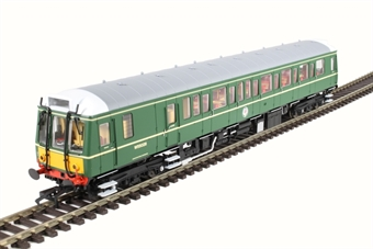 4D-009-002 Class 121 single car DMU 'Bubblecar' W55028 in BR green with small yellow panels