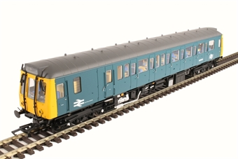 4D-009-004D Class 121 single car DMU 'Bubblecar' W55023 in BR blue - DCC Fitted