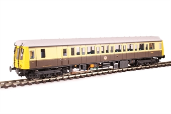 4D-009-HAT01 Class 121 single car DMU 'Bubblecar' 120 in 'GWR 150' chocolate and cream - Hatton's limited edition