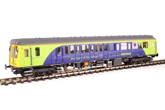 4D-009-HAT03 Class 121 single car DMU 'Bubblecar' 960011 in Railtrack blue and green - Hatton's limited edition