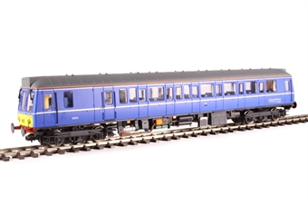 4D-009-HAT04 Class 121 single car DMU 'Bubblecar' 121020 in Chiltern Railways blue - Hatton's limited edition