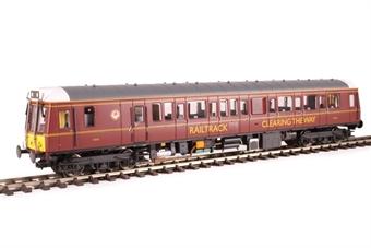 4D-009-HAT06 Class 121 single car DMU 'Bubblecar' 960010 in Railtrack 'coaching stock' maroon - Hatton's limited edition £105