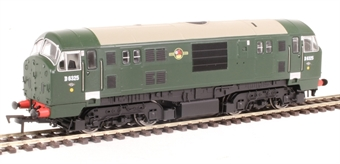 4D-012-004 Class 22 D6325 in BR green with no yellow panels and disc headcodes