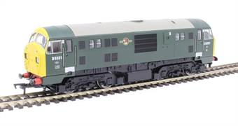 4D-012-005 Class 22 D6331 in BR green with full yellow ends and headcode boxes