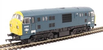 4D-012-008D Class 22 D6332 in BR blue - DCC fitted