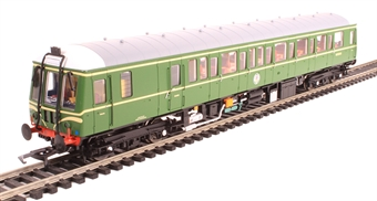 "4D-015-002 Class 122 Gloucester RCW ""Bubblecar"" single car DMU Class 122 single car DMU 'Bubble car' W55000 in BR green with speed whiskers £123.25"
