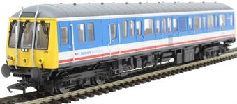 4D-015-006D Class 122 single car DMU 'Bubblecar' 975042 in Network SouthEast 'Route Learner' livery - Digital fitted