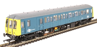 """4D-015-HAT01 Class 122 Gloucester RCW """"Bubblecar"""" single car DMU TDB975023 in Route Learning BR blue - Hatton's limited edition £105"""