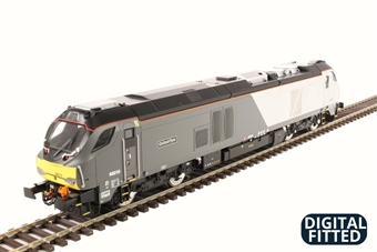 "4D-022-011D Class 68 68010 ""Oxford Flyer"" in Chiltern Railways livery - DCC Fitted"