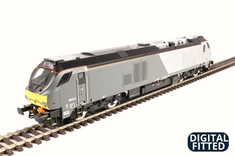 4D-022-012D Class 68 68015 in Chiltern Railways livery - DCC Fitted