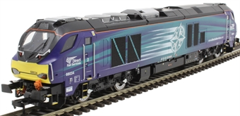 4D-022-016 Class 68 68034 in Direct Rail Services blue