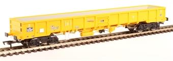 "4F-010-006 JNA ""Falcon"" bogie ballast wagon NLU29021 in Network Rail yellow £22.07"