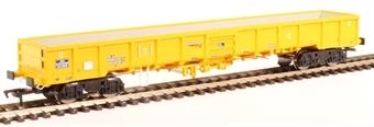 "4F-010-007 JNA ""Falcon"" bogie ballast wagon NLU29046 in Network Rail yellow £22.07"