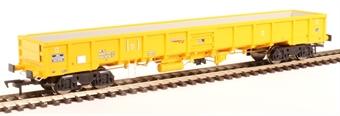 "4F-010-008 JNA ""Falcon"" bogie ballast wagon NLU29198 in Network Rail yellow £22.07"