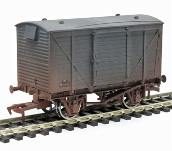 4F-011-022 12 ton ventilated van M183315 in BR grey - weathered