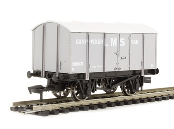 4F-013-005 Gunpowder van 299031 in LMS livery