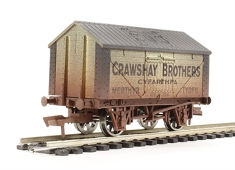 "4F-017-010 Lime wagon ""Crawshay Lime"" - weathered"
