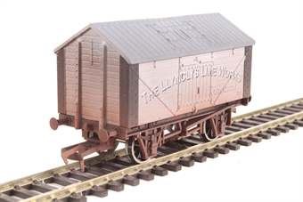 "4F-017-018 4-wheel lime wagon ""Llynclys Lime Works"" - weathered"