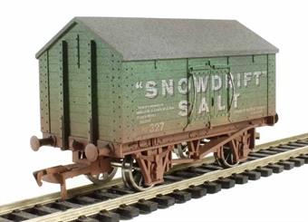 "4F-018-012 Salt Van ""Snowdrift"" - weathered £10"
