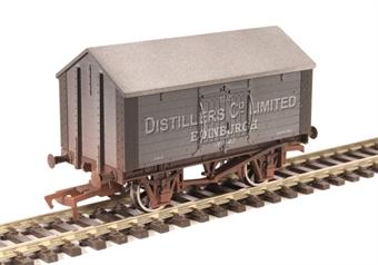 """4F-018-018 4-wheel salt van """"Distiller's Co"""" - weathered"""