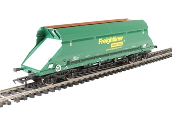 4F-026-009 HIA aggregate limestone hopper 369017 in Freightliner green livery