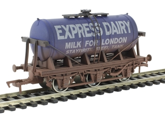 4F-031-018 6 Wheel Milk Tanker Express Dairy 'E' - weathered £13
