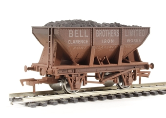 "4F-033-004 24 Ton steel ore hopper ""Bell Bros"" - weathered (ex-B1013W/B868W)"