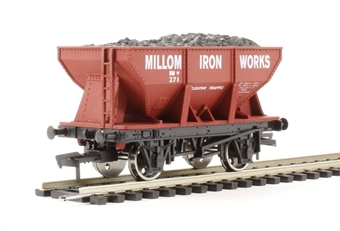 "4F-033-005 24 Ton steel ore hopper ""Millom Iron Works"""