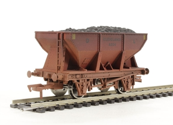 4F-033-008 24 Ton steel ore hopper Dorman Long - weathered