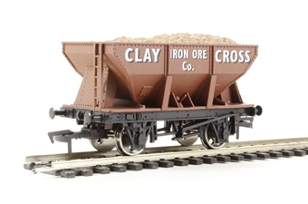 "4F-033-009 24 Ton steel ore hopper ""Clay Cross"""