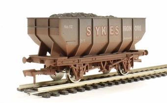 4F-034-014 21T Hopper Sykes - weathered