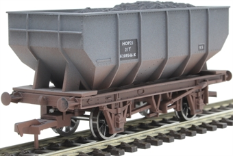4F-034-026 21 ton mineral hopper E2894546 in BR grey - weathered