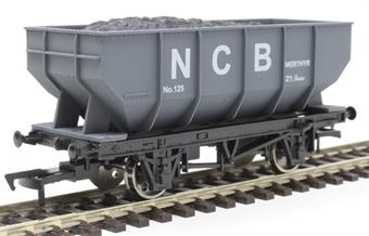 4F-034-116 21 ton mineral hopper in National Coal Board grey