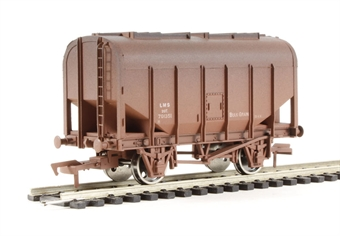 4F-036-008 Bulk grain hopper wagon LMS #701351 - weathered