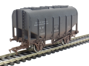 4F-036-018 Bulk Grain Hopper GWR Avonmouth - weathered