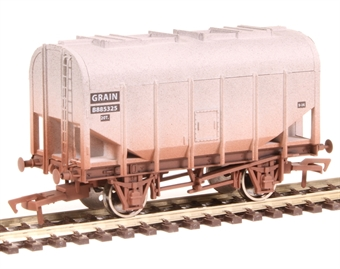 4F-036-024 Bulk grain hopper B885325 in BR grey - weathered