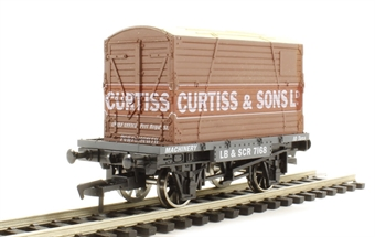 """4F-037-108 Conflat wagon and container """"Curtiss"""""""