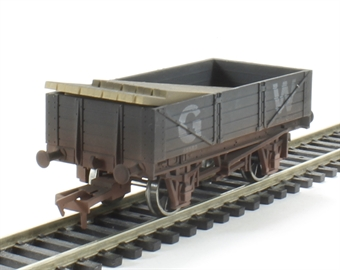 4F-040-008 4 Plank GWR #45583 - weathered