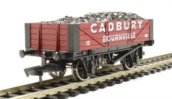 "4F-040-009 4 plank wagon ""Cadbury"""